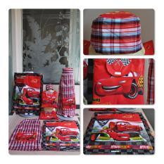 Sarung Anak Mobil Merah Produk Tasikmalaya