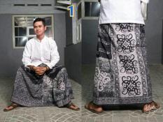 Sarung Batik Cap Budaya Nusantara