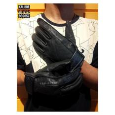 Sarung Tangan Motor Kulit/Leather/Biker Glove Kalibre 992057 Ori/Asli