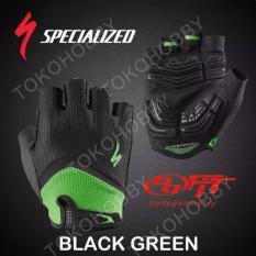 Sarung Tangan Sepeda Specialized - Hijau/Hitam