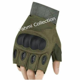 Harga preferensial Sarung Tangan Tactical Military Half Finger terbaik murah - Hanya Rp76.118