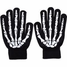 Beli Barang Sarung Tangan Touch Glove Skull Skeleton Design For Smartphone Online