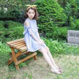 Sastra Gadis Baru Anak Gaun Biru Murah