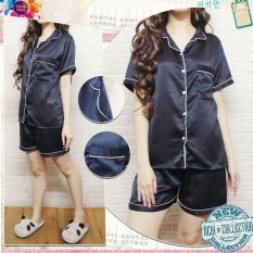 Satin PP Celana Pendek Serries  pakaian tidur wanita  piyama satin velvet silk