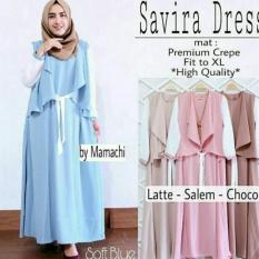 Harga Savira Dress Blue Light Terbaik