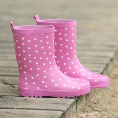 Jual Sayang Non Slip Pembibitan Anak Kecil Sepatu Boots Hujan Anak Anak Sepatu Boots Hujan Merah Muda Warna Other Original
