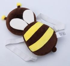 Sayang Sayang Anti Jatuh Helm Tikar (5 Bulan-18 Bulan + Coklat (Besar Lebah))