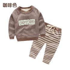 Kaos Sweater Tz-3242 Korea Bayi Huruf Bergaris