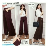 Harga Sb Collectiin Celana Kulot Panjang Chocolate Long Pant Coklat Origin