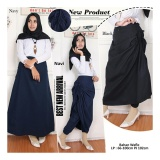 Promo Sb Collectiin Celana Rok Zakia 3 In 1 Long Pant Navi Sb Collection Terbaru