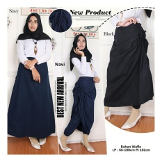 Tips Beli Sb Collectiin Celana Rok Zakia 3 In 1 Long Pant Navi