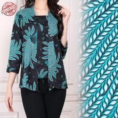 SB Collection Atasan Blouse Melinda Abaya Kemeja Batik Wanita