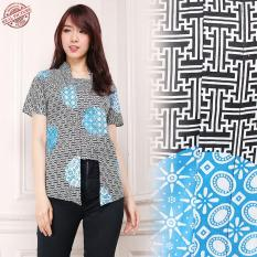 Harga Sb Collection Atasan Blouse Stefany Kemeja Abaya Batik Wanita Terbaru