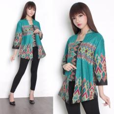 Jual Sb Collection Atasan Calandra Blouse Kemeja Abaya Batik Wanita Tosca Antik