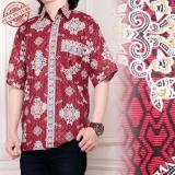 Beli Sb Collection Atasan Candra Kemeja Batik Pria Merah Terbaru