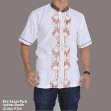 Diskon Sb Collection Atasan Kemeja Donni Koko Shirt Putih Banten