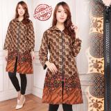Beli Sb Collection Atasan Leyli Long Tunik Blouse Kemeja Wanita Batik Jumbo Online Murah