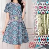 Harga Sb Collection Atasan Midi Dress Bahiya Batik Wanita Dan Spesifikasinya