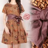 Spesifikasi Sb Collection Atasan Midi Dress Olivia Batik Wanita Bagus
