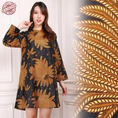 SB Collection Atasan Tunik Risma Blouse Kemeja Batik Wanita