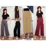 Jual Sb Collection Celana Fitriani Kulot Long Pant Abu Branded