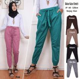 Review Sb Collection Celana Joger Jumbo Jenny Long Pant Hitam Banten