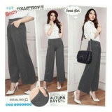Review Sb Collection Celana Kulot Onegrey Long Pant Abu Banten
