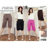 Dimana Beli Sb Collection Celana Kulot Pendek Rani Short Pant Abu Sb Collection