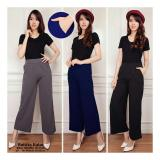 Jual Sb Collection Celana Kulot Raisita Long Pant Abu Import
