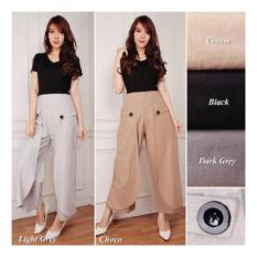 SB Collection Celana Kulot Ramlan Long Pant-Cream