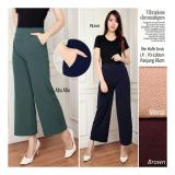 Review Toko Sb Collection Celana Kulot Viana Long Pant Moca Online