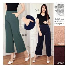 Harga Sb Collection Celana Kulot Viana Long Pant Moca Branded
