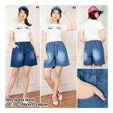 Harga Sb Collection Celana Michele Jeans Hot Pant Biru Tua Murah