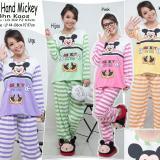 Jual Beli Sb Collection Setelan Baju Tidur Hand Mickey Piyama Pink Banten