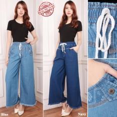 Spesifikasi Sb Collection Celana Panjang Citra Kulot Jeans Wanita Lengkap