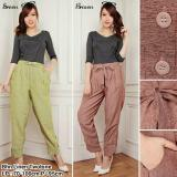 Jual Sb Collection Celana Panjang Haryati Long Pant Coklat Branded Original