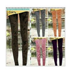 Diskon Sb Collection Celana Panjang Lily Jumbo Legging Gold Sb Collection Banten