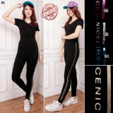 Jual Sb Collection Celana Panjang Nanda Legging Senam Jumbo Wanita Sb Collection