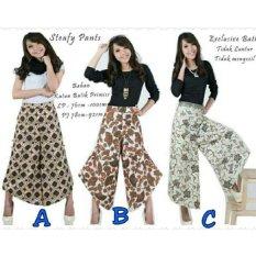 Jual Beli Online Sb Collection Celana Panjang Steafy Kulot Batik Multicolor A
