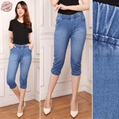 SB Collection Celana Pendek Betty Shortpants Jeans Jumbo Wanita