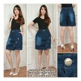 Cara Beli Sb Collection Celana Rok Venna Hot Pant Jeans Jumbo Biru Tua