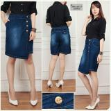 Spesifikasi Sb Collection Celana Silvia Jumbo Jeans Hotpant Biru Tua Dan Harga