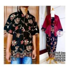 Beli Sb Collection Couple 3In1 Maimun Batik Stelan Kebaya Dan Kemeja Hitam Online Terpercaya