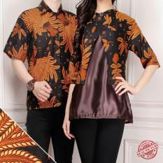 Model Sb Collection Couple Atasan Avalee Blouse Dan Kemeja Batik Pria Coklat Terbaru