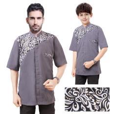 SB Collection Couple Atasan Baju Muslim Anto Koko Kemeja Anak Dan Ayah