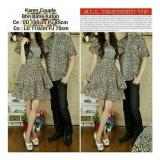Spek Sb Collection Couple Batik Karen Dress Dan Kemeja Coklat