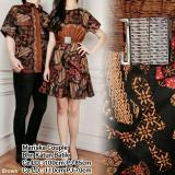 Jual Sb Collection Couple Batik Mariska Dress Atasan Coklat Baru