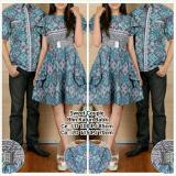 Spesifikasi Sb Collection Couple Batik Sweet Dress Dan Kemeja Sarimpit Abu Lengkap