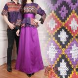 Harga Sb Collection Couple Gamis Jumbo Longdress Syahrini Dan Kemeja Pria Ungu Terbaik
