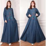 Spesifikasi Sb Collection Dress Maxi Citra Longdress Jeans Jumbo Gamis